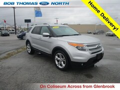 Used 2013 Ford Explorer Limited SUV 3.5L Gasoline 4WD 1FM5K8F88DGC49750 for sale in Fort Wayne, IN