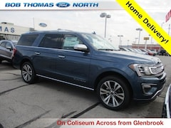 New 2020 Ford Expedition Max Platinum SUV for sale in Fort Wayne, IN