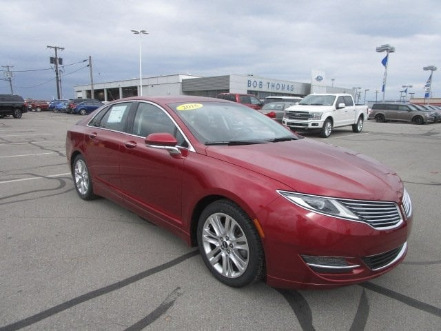 2016 Lincoln MKZ Base Sedan 2L Gasoline FWD