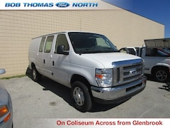 Used 2014 Ford E-250 Commercial Cargo Van 4.6L Flex Fuel RWD 1FTNE2EW1EDA96351 for sale in Fort Wayne, IN