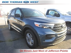 New 2020 Ford Explorer XLT SUV T00025 in Fort Wayne, IN