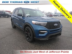 New 2020 Ford Explorer ST SUV T00200 in Fort Wayne, IN