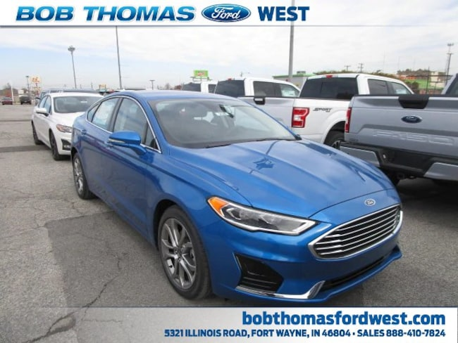 New 2019 Ford Fusion SEL Car in Fort Wayne, IN