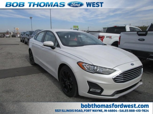 New 2019 Ford Fusion SE Car in Fort Wayne, IN