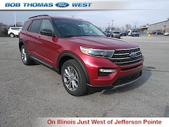 New 2020 Ford Explorer XLT SUV T00060 in Fort Wayne, IN