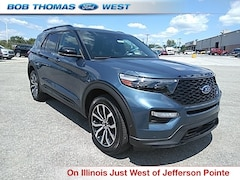 New 2020 Ford Explorer ST SUV in Fort Wayne, IN