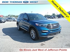 New 2020 Ford Explorer XLT SUV T00378 in Fort Wayne, IN