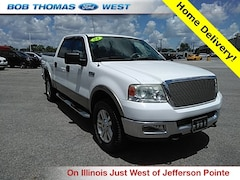 Bargain Used 2004 Ford F-150 Lariat Truck 1FTPW14564KA74980 for Sale in Fort Wayne, IN
