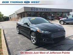 Bargain Used 2015 Ford Fusion SE Sedan 1FA6P0HD1F5105760 for Sale in Fort Wayne, IN