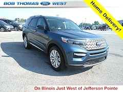 New 2020 Ford Explorer Limited SUV T00452 in Fort Wayne, IN