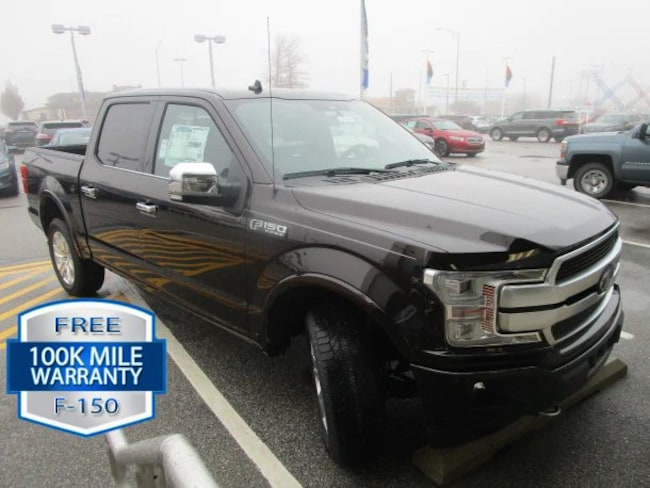 New 2019 Ford F-150 Platinum Crew Cab Pickup in Fort Wayne, IN