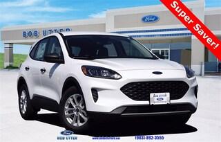 new 2020 Ford Escape S SUV for sale sherman tx