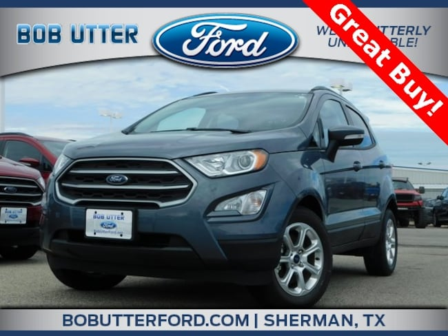 New 2018 Ford EcoSport SE SUV For Sale/Lease Sherman TX