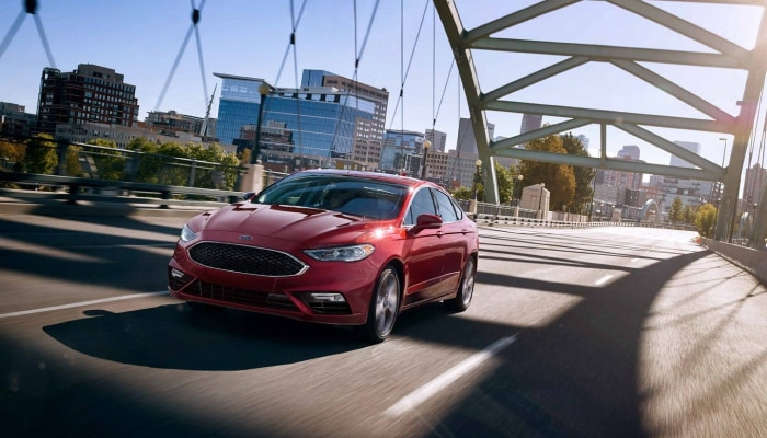 The high-performance 2019 Ford Fusion