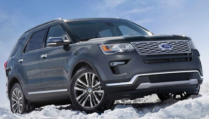 The 2019 Ford Explorer can handle any terrain