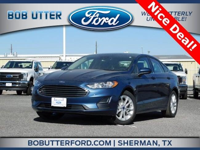 New 2019 Ford Fusion SE Sedan For Sale/Lease Denison, TX