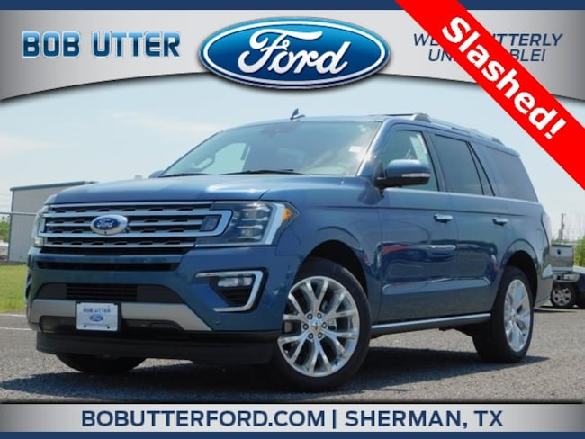 New 2018 Ford Expedition Limited SUV For Sale/Lease Denison, TX