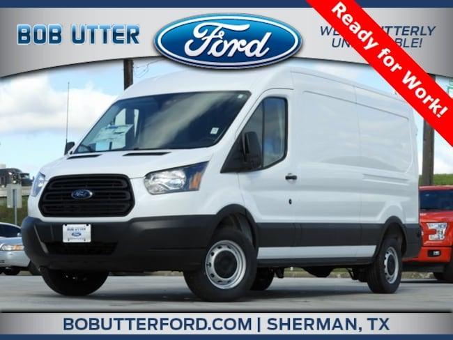 New 2019 Ford Transit-250 Base w/Sliding Pass-Side Cargo Door Van Medium Roof Cargo Van For Sale/Lease Denison, TX