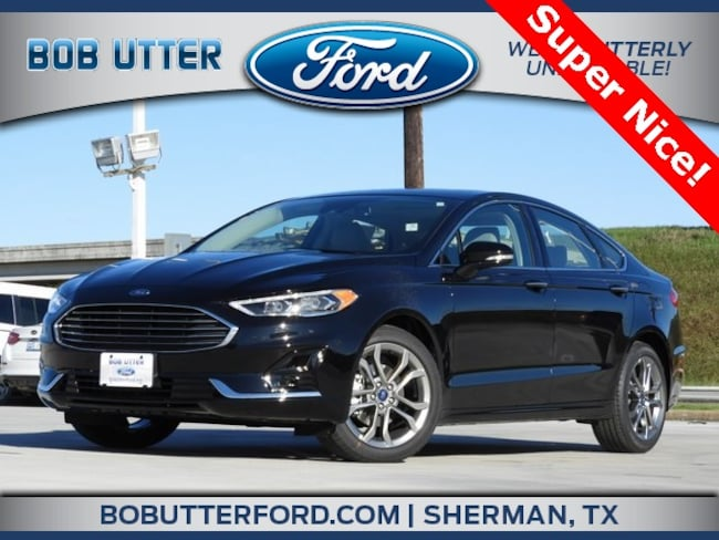 New 2019 Ford Fusion SEL Sedan For Sale/Lease Sherman TX