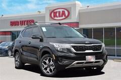 New 2021 Kia Seltos EX SUV KNDERCAA9M7076849 For Sale in Sherman, TX