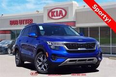 New 2021 Kia Seltos EX SUV KNDERCAA6M7127238 For Sale in Sherman, TX