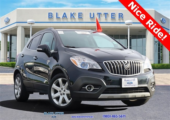Used 2015 Buick Encore Leather SUV For Sale Sherman, TX