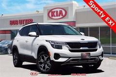 New 2021 Kia Seltos EX SUV KNDERCAA8M7088829 For Sale in Sherman, TX
