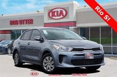 New 2020 Kia Rio S Sedan 3KPA24AD3LE330444 For Sale in Sherman, TX