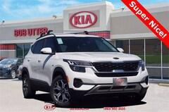 New 2021 Kia Seltos EX SUV KNDERCAA2M7127818 For Sale in Sherman, TX