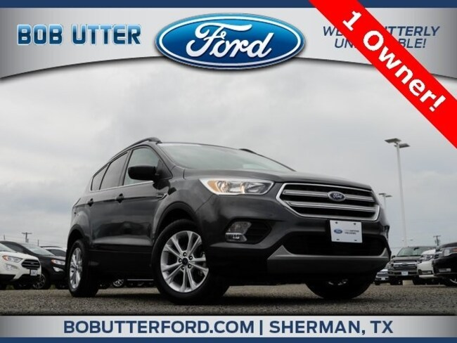 Car Dealerships In Sherman Tx >> Used 2018 Ford Escape For Sale Sherman Tx Vin 1fmcu0gd9jub85407