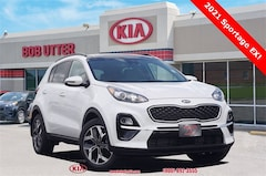 New 2021 Kia Sportage EX SUV KNDPN3AC9M7857201 For Sale in Sherman, TX
