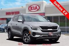 New 2021 Kia Seltos EX SUV KNDERCAA6M7077487 For Sale in Sherman, TX