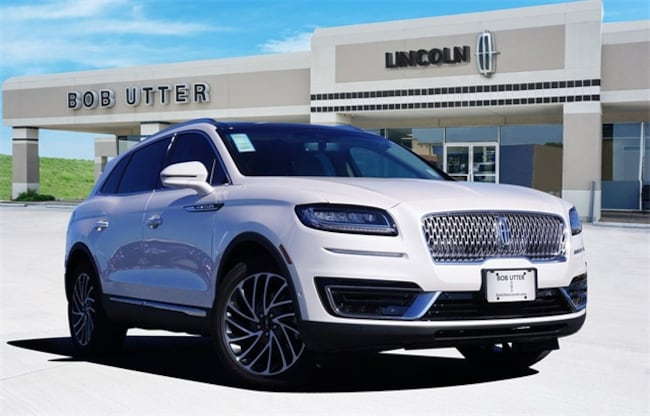 New 2019 Lincoln Nautilus Reserve SUV For Sale Lease Sherman, TX