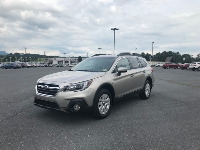 Certified 2018 Subaru Outback 2.5i SUV