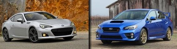 Brz Vs Wrx >> 2015 Subaru Brz Vs Wrx Harrisonburg Va