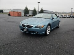 Used 2004 BMW 6 Series 645Ci Convertible PO7633 For sale near Strasburg VA