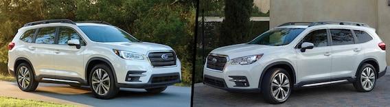 Compare 2020 Vs 2019 Subaru Ascent Harrisonburg Va