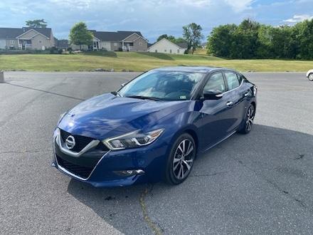 Featured 2018 Nissan Maxima Platinum Sedan S21657A for sale in Harrisonburg, VA