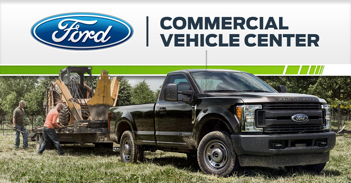 Ford Commercial Fleet Vehicles