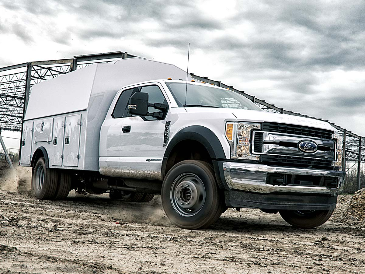 Ford F350 Chassis XL