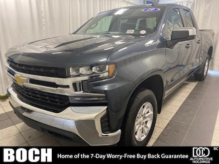 2019 Chevrolet Silverado 1500 4WD Double Cab 147 LT Extended Cab Pickup
