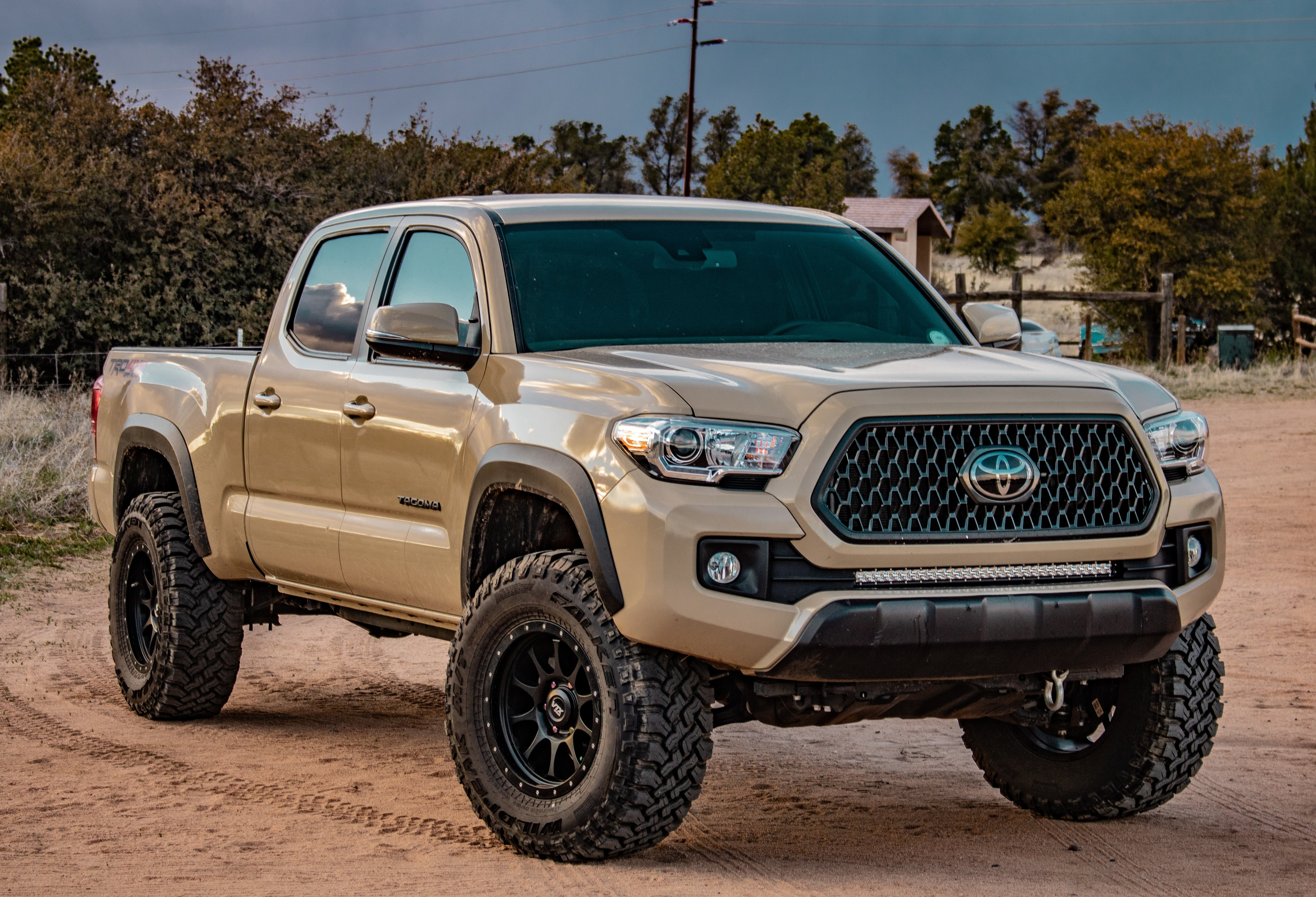 What you can get to personalize your vehicle at Boch Honda, Boch Toyota, Boch Nissan, Boch Hyundai, Boch Chevrolet, Genesis of Norwood, Boch Toyota South, Boch Honda West, Boch Nissan South, & Boch New to You in Massachusetts, MA | Toyota Tacoma with lifted suspension
