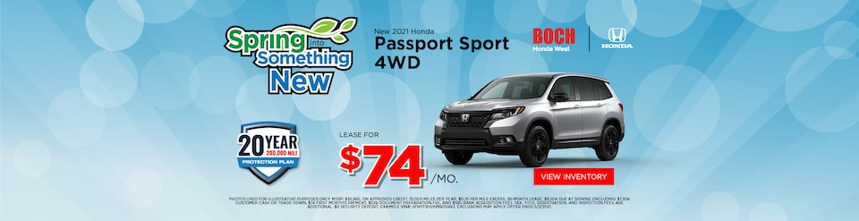 2021 Honda Passport Sport Special