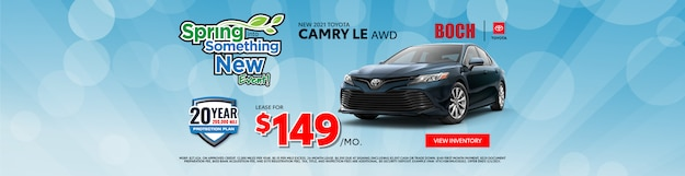 2021 Toyota Camry LE AWD Special
