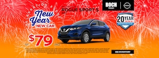 NEW 2020 NISSAN ROGUE SPORT S AWD