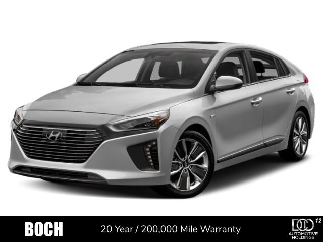 2019 Hyundai Ioniq Hybrid Limited Hatchback Car