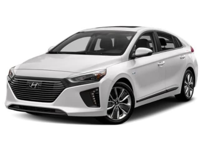 2019 Hyundai Ioniq Hybrid Blue Hatchback Car