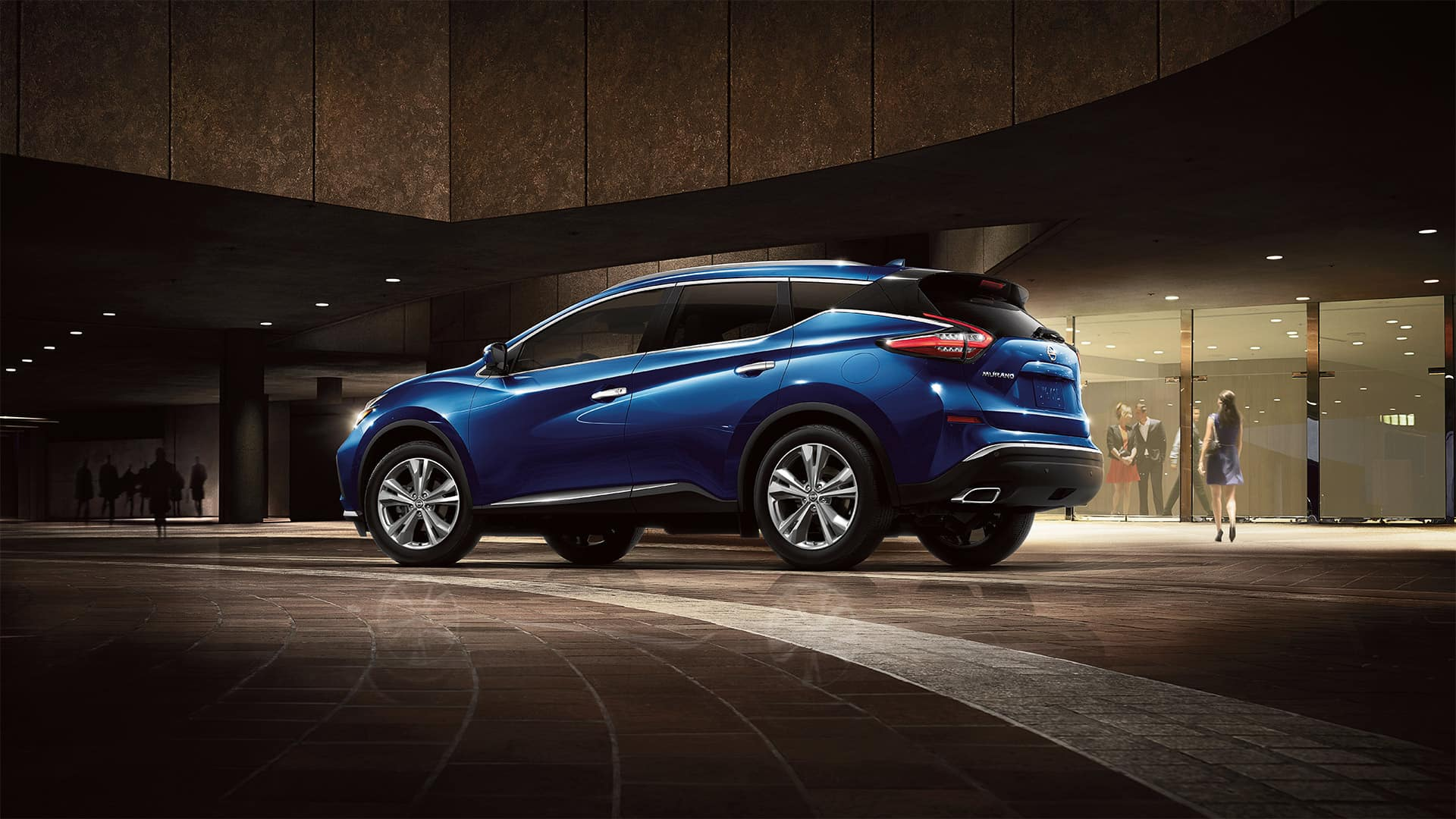Boch Nissan South is a Family Owned Dealership near Norton, MA | 2020 Nissan Murano driving im tunnel