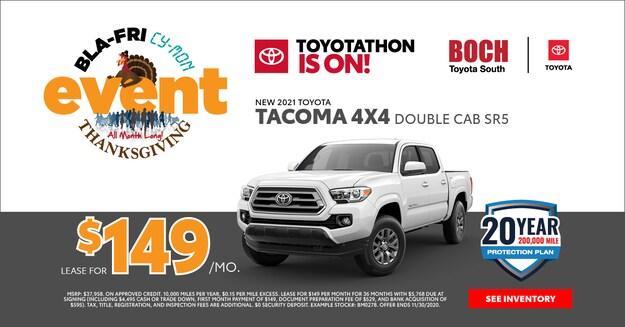 2021 TOYOTA TACOMA 4X4 DOUBLE CAB SR5