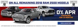 2018 RAM 2500 Finance Special